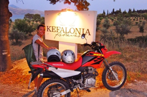 RIDING KEFALONIA