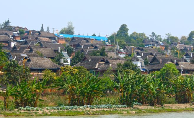 Menghai - a village