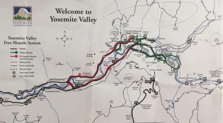 Yosemite National Park_Map