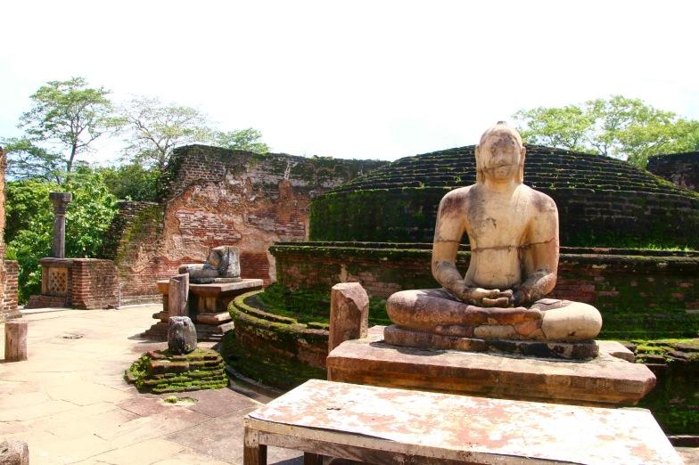 Ancient Buddha Polonnaruwa