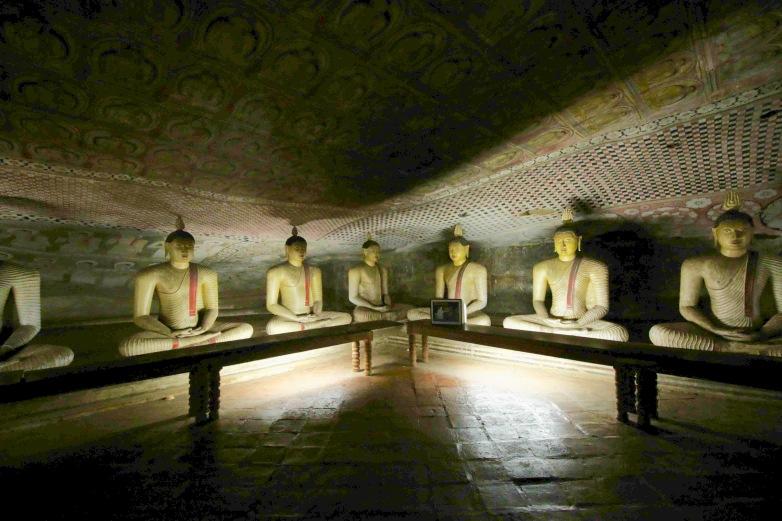 Ancient Buddha Dambulla Caves